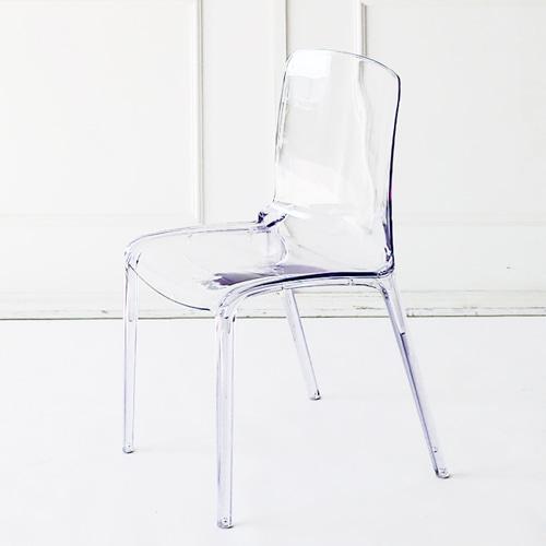 CH2380| 투명프레임 | YGG040 / 투명의자 플라스틱의자 디자인의자 하늘창가구주식회사 하늘창가구
